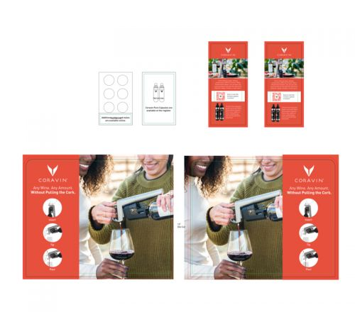 Non-Video Brand Display Model Five