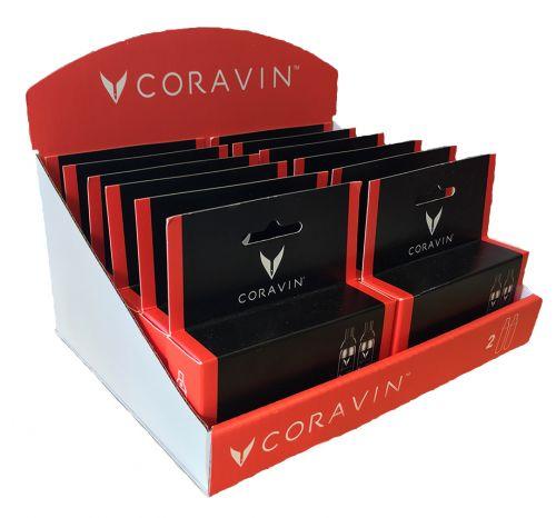 CORAVIN™  CAPSULE RETAIL 12 X 2-PACK