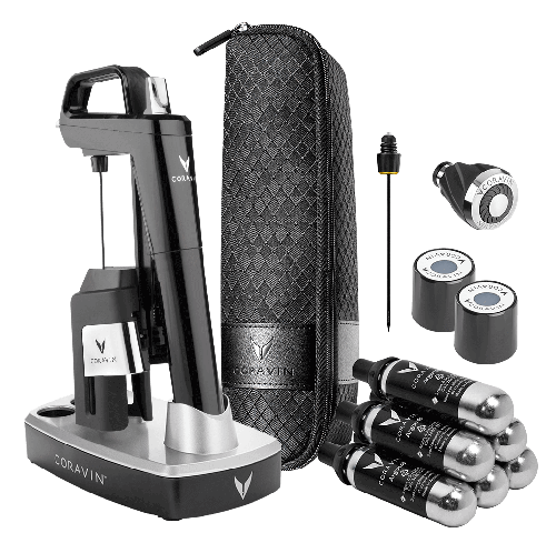 CORAVIN™ Model Six Ultimate Wine Lovers Pack-Piano Black