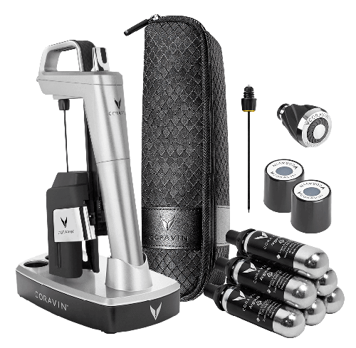 CORAVIN™ Model Six Ultimate Wine Lovers Pack-Silver