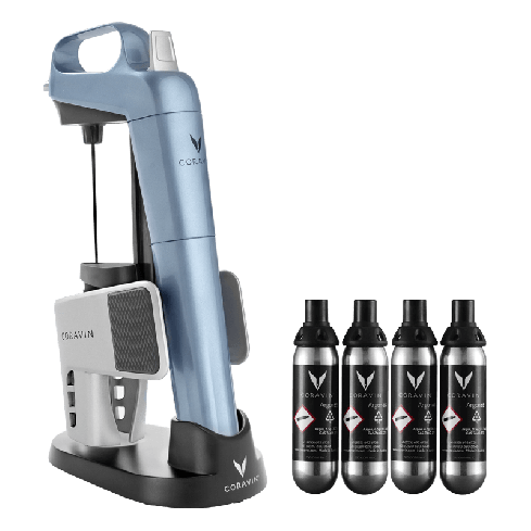 CORAVIN™ LIMITED EDITION I BUNDLE – STEEL BLUE